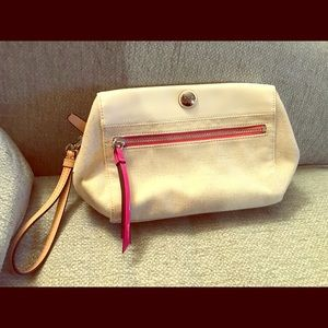 Coach makeup bag New!
